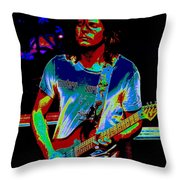 The Sound Of Psychedelic Memories Throw Pillow