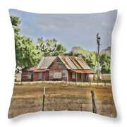 The Sound Of Quiet  Throw Pillow