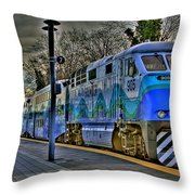 The Sounder Throw Pillow