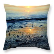 The Sound's Edge Throw Pillow