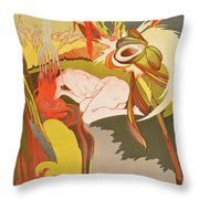 The Source Of Evil Throw Pillow