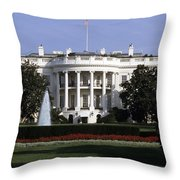 The South Side Of The White House Throw Pillow