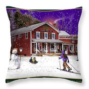 The South Woodstock Country Store Throw Pillow