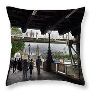 The Southbank, London Throw Pillow