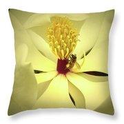 The Southern Magnolia Throw Pillow