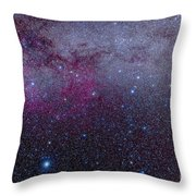 The Southern Milky Way Throw Pillow