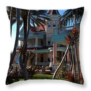 The Southernmost Hotel  Throw Pillow