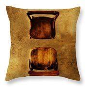 The Space Between You And Me Throw Pillow