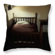 The Spare Room Throw Pillow