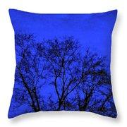 The Sparkle Tree Throw Pillow