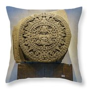 The Special Aztec Sunstone Throw Pillow