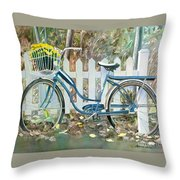 The Special Delivery Throw Pillow