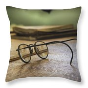 The Spectacles Throw Pillow