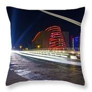 The Speed Danger Throw Pillow