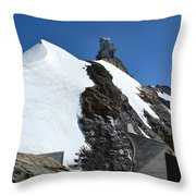 The Sphinx At Jungfrau Throw Pillow