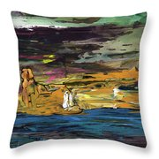 The Sphinx Throw Pillow