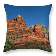 The Sphinx Rock Formation Throw Pillow