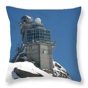 The Spinx Jungfraujoch Throw Pillow