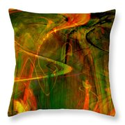 The Spirit Glows Throw Pillow