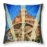 The Spirit Of Asheville Throw Pillow