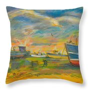 The Spirit Of Hastings Throw Pillow