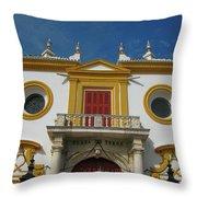 The Spirit Of Sevilla Throw Pillow