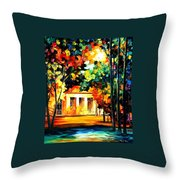 The Spirit Of The Night Throw Pillow