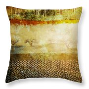 The Spirit Trees Throw Pillow