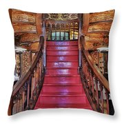 The Splendor Of Stairs Throw Pillow