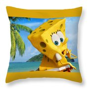 The Spongebob Movie Sponge Out Of Water Throw Pillow