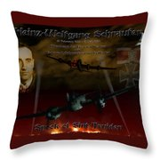 The Spook Of St. Trond Throw Pillow