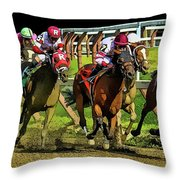 The Sport Of Kings Throw Pillow