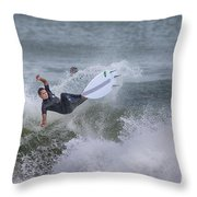 The Spray Throw Pillow