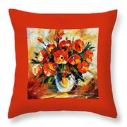 The Spring Is Here Throw Pillow