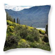 The Spring Show Throw Pillow