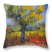 The Spring Tree Throw Pillow