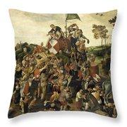 The St Martin's Day Kermis Throw Pillow