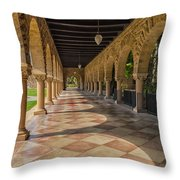 The Stanford Entrance Throw Pillow