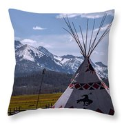 The Stanley Tipy Throw Pillow
