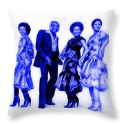 The Staple Singers Collection Throw Pillow