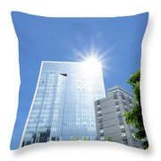 The Star Of Lic Throw Pillow