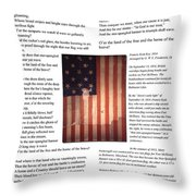 The Star-spangled Banner Throw Pillow
