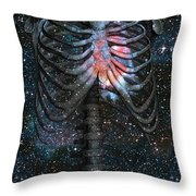 The Starbound Heart I Throw Pillow