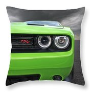 The Stare - Challenger Rt Throw Pillow