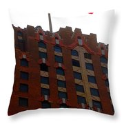 The Stars And Stripes Has Waved Above Throw Pillow