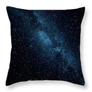 The Stars At Tuttle Creek, Lone Pine, Ca, Usa, September, 2016 Throw Pillow