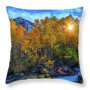 The Stars Of Autumn Throw Pillow