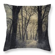 The Starting Point Throw Pillow