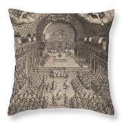 The States General Of France (les Etats Generaux De France) Throw Pillow