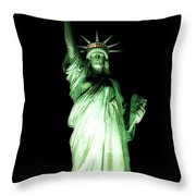 The Statue Of Liberty #2 Throw Pillow